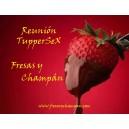 REUNIÓN TUPPERSEX FRESAS Y CHAMPÁN